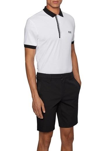 Hugo Boss  % 100 Pamuklu Slim Fit Polo T Shirt Erkek Polo 50399185 103 Ekru